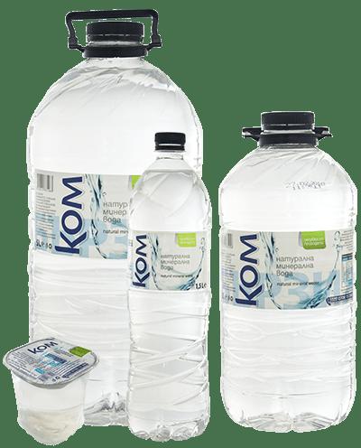 вода, минерална вода